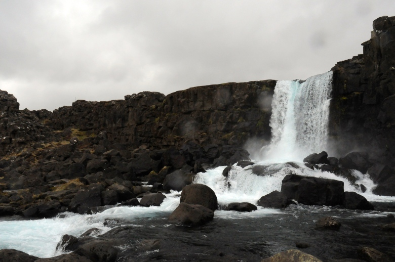 Thingvellir Waterfall