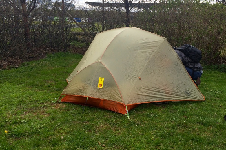 Camping in Icleand