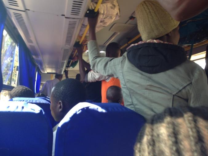 Bus from Lilongwe to Nkhata Bay Malawi
