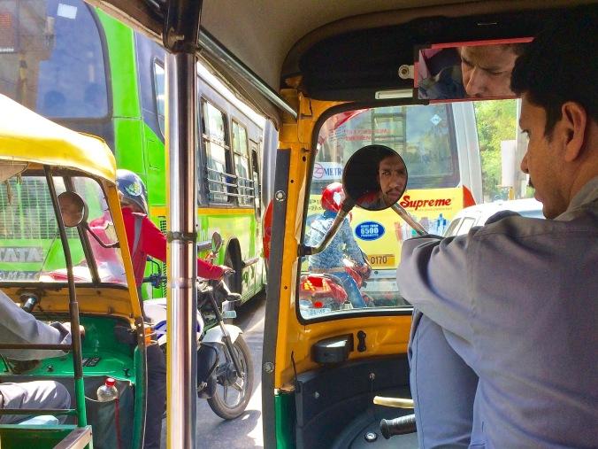 New Delhi tuk tuk